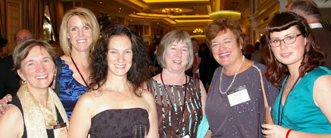Of Vision 2000: Sheila Gallant Halloran, Ottawa, Julie Skinner, Victoria, Maureen Hutchison, Ontario, Mary Lyn McCarthy, Victoria, Lynda Sinclair, general manager,