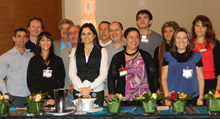 Ecuador delegates and partners